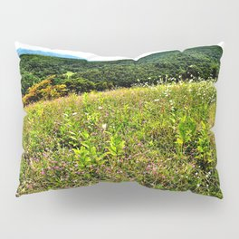 Mountains Photography Pillow Sham