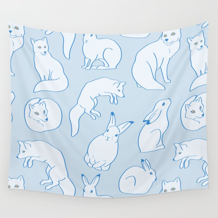 Arctic Pattern Wall Tapestry