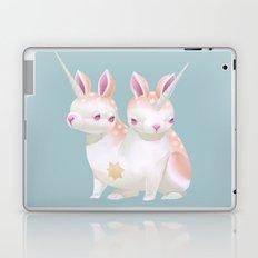 Two Heads Bunny Laptop & iPad Skin
