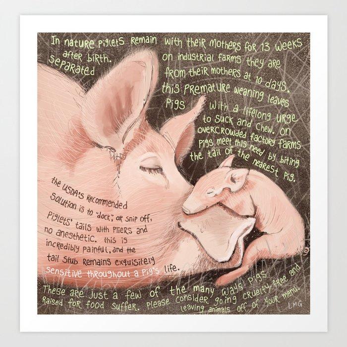 Pigs 1 Art Print