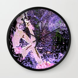To Love Is To Burn #2 Wall Clock