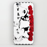 miley cyrus iPhone & iPod Skins featuring Miley Cyrus by Kunooz