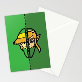 Old & New Link Comparison Stationery Cards