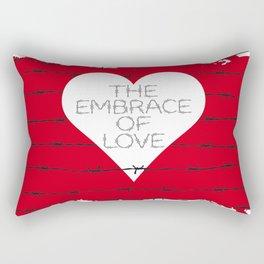 The embrace of love Rectangular Pillow