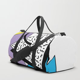 Memphis pattern 56 - 80s / 90s Retro Duffle Bag