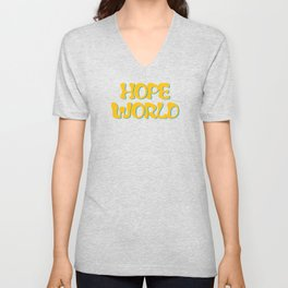 hope world Unisex V-Neck