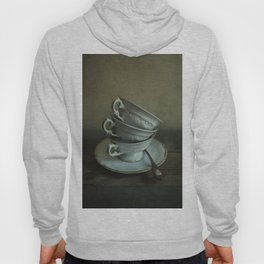 White teacups set Hoody