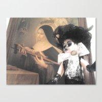 valentina Canvas Prints featuring Valentina by Lacruxx Lacroixx