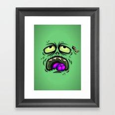 ZOMBIE HORROR Framed Art Print