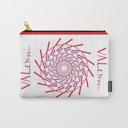 Valentine Spin Carry-All Pouch