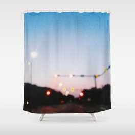 Ambient Streets (NOLA) Shower Curtain
