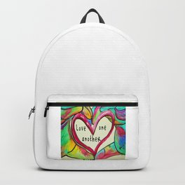 Love One Another John 13:34 Backpack