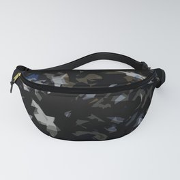 camou blue black Fanny Pack