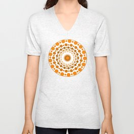Earthy Specks Unisex V-Neck
