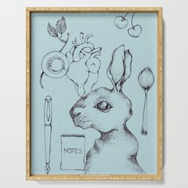 Indie Rabbit Serving Tray
