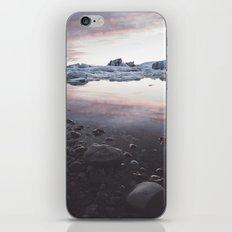 Jokulsarlon Lagoon - Sunset iPhone & iPod Skin
