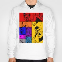 x men Hoodies featuring X-Men by Carrillo Art Studio
