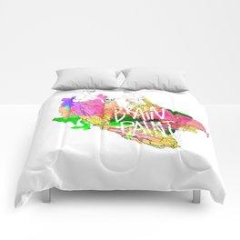 Brain Paint Comforters