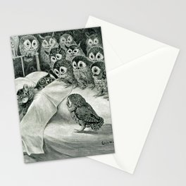 Cat's Nightmare - Louis Wain Cats Stationery Cards