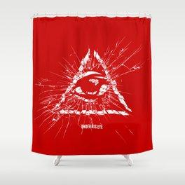 Under His Eye Shower Curtain