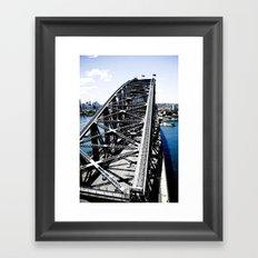 Harbour Bridge Sydney Framed Art Print