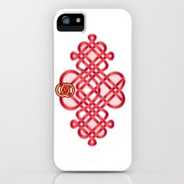 Satin Love Knot iPhone Case