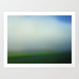 green 13 Art Print