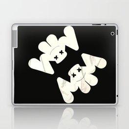 MARSHMELLO flag black Laptop & iPad Skin