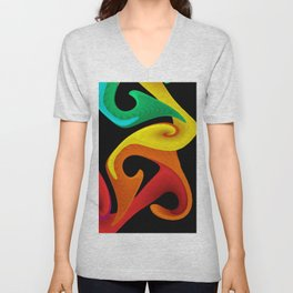 colors for your home -507- Unisex V-Neck