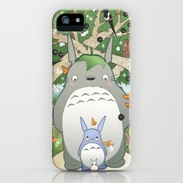Woodland Friends iPhone Case