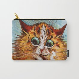 "Louis Wain's Cats ""Tom Smith's Crackers"" Carry-All Pouch"