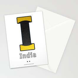 India - Navy Code Stationery Cards