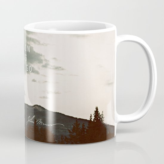 The Mountain is Calling Mug