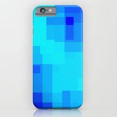 Blue Squares iPhone 6s Slim Case