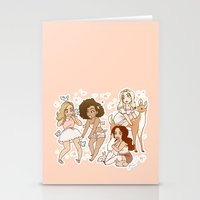 kendrawcandraw Stationery Cards featuring Princesses by kendrawcandraw