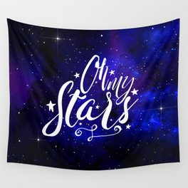 Oh My Stars Wall Tapestry