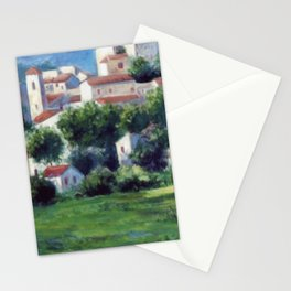 Shadows and lights of Provence / Ombres et lumières de Provence Stationery Cards