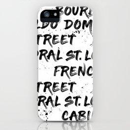 New Orleans Graffiti iPhone Case