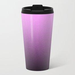 Lauree - ombre purple violet pantone gradient color splash decor minimalist Travel Mug