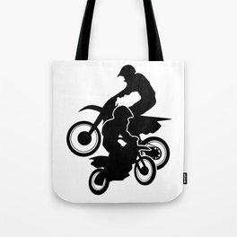 Motocross Dirt Bikes Off-road Motorcycle Racing Tote Bag
