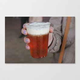 Butterbeer Canvas Print