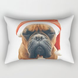 Christmas Boxer Rectangular Pillow