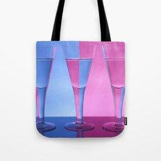 Refracted Wine Glasses  Tote Bag