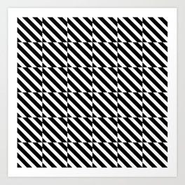 optical pattern 13 Art Print