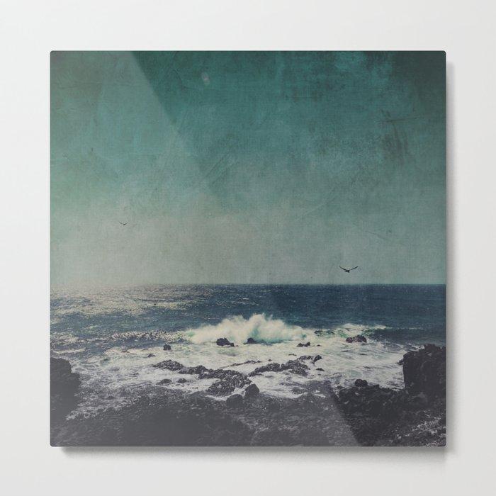emerAld oceAn Metal Print