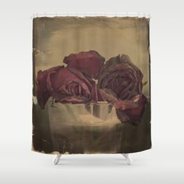 The veins of Roses Shower Curtain