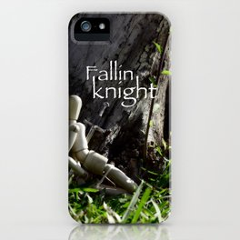 fallin knight  iPhone Case
