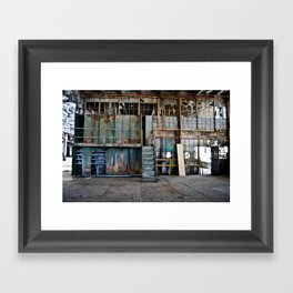 Left to Rot  Framed Art Print