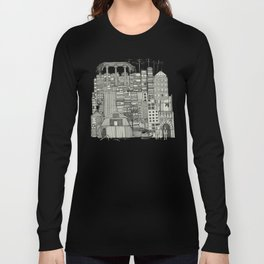 dystopian toile mono Long Sleeve T-shirt