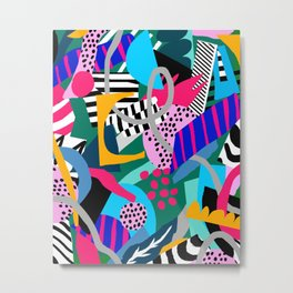 JUNGLE FREESTYLE 2 Metal Print